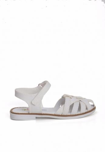 Beyaz Renk Çocuk Sandalet