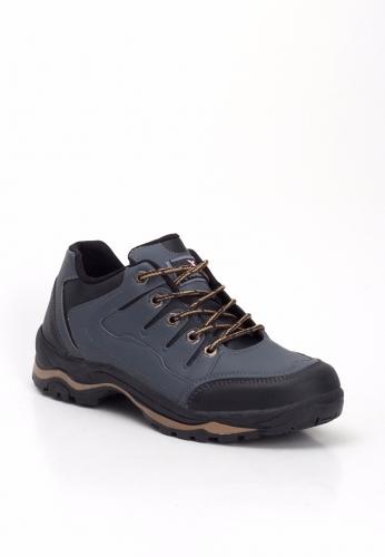 Gri Bağcıklı Ayakkabı