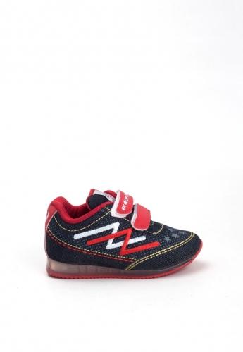 Kot Rengi Desenli Çocuk Spor Ayakkabı
