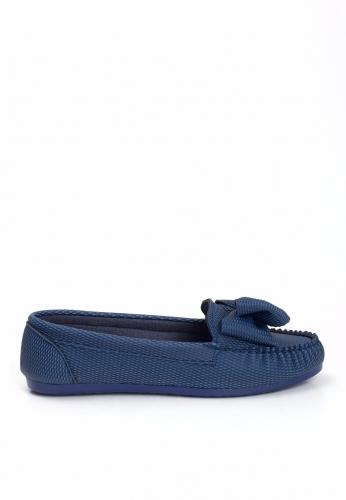 Lacivert Fiyonklu Ayakkabı