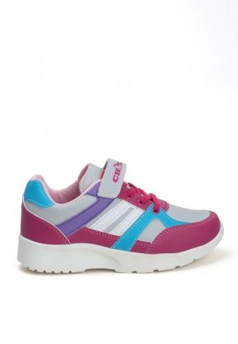 Pembe Desenli Çocuk Spor Ayakkabı
