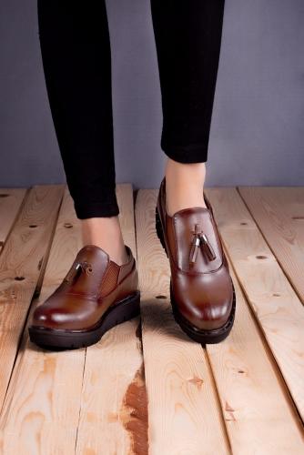 Püsküllü Oxford Ayakkabı