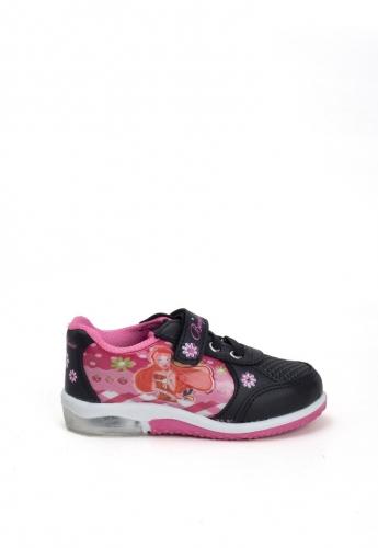 Siyah Desenli Çocuk Spor Ayakkabı