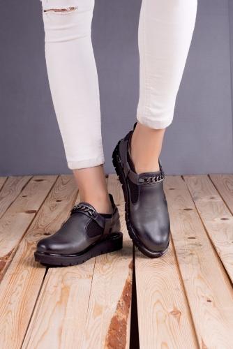 Siyah Oxford Ayakkabı Modeli