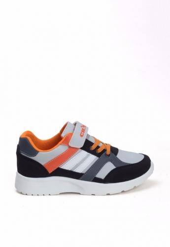 Siyah Turuncu Çocuk Spor Ayakkabı