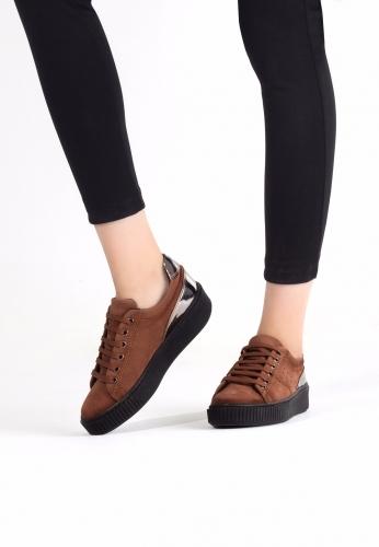 Taba Spor Ayakkabı
